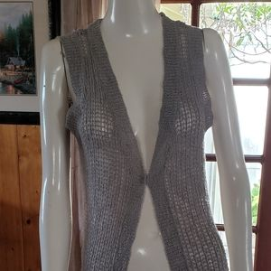 ONLY Long Knitted Cardigan - Gray